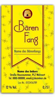 Bärenfang-Etikett 1322 150