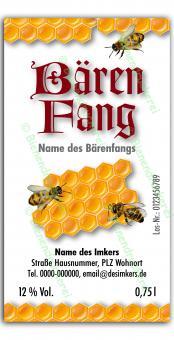 Bärenfang-Etikett 2583