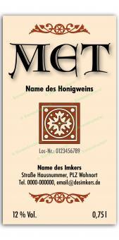 Met-Etikett 0580