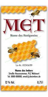 Met-Etikett 0583