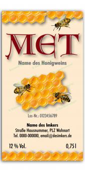 Met-Etikett 0584