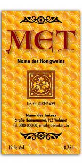 Met-Etikett 0585