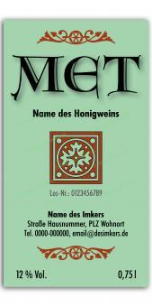 Met-Etikett 0589